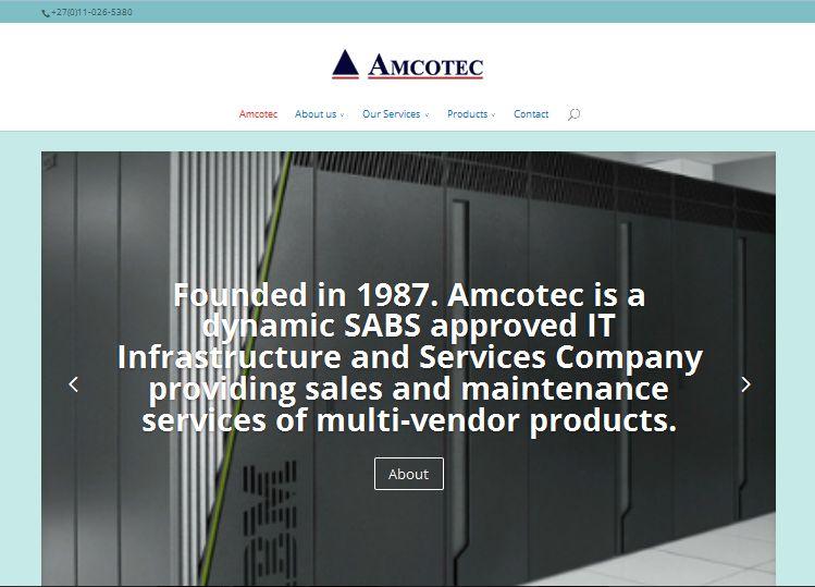 Web Design Amcotec